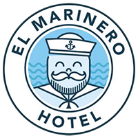 logo El-Marinero-Hotel-Salinas-Santa-Elena-Ecuador-habitaciones-dobles-sencillas-matrimoniales-familiares